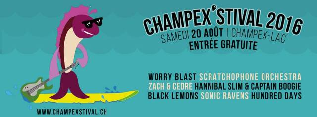 Champex'stival 20th August